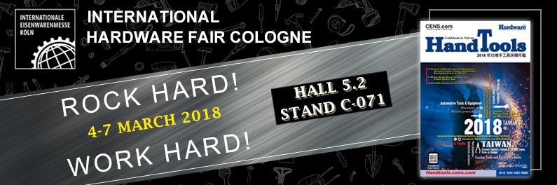 CENS.com 2018科隆五金展