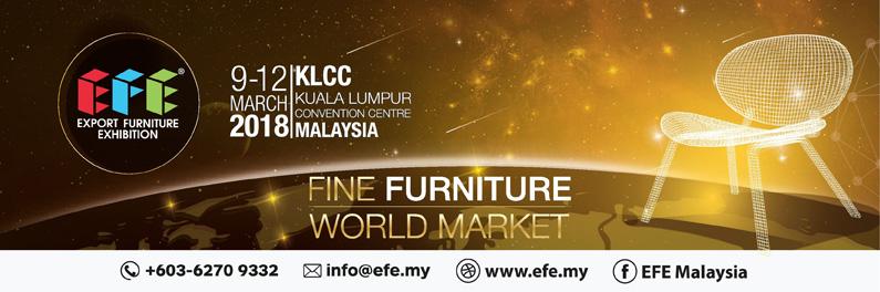 CENS.com 馬來西亞出口家具展(EFE)