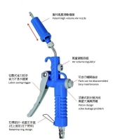 Cens.com WHY WAIT MACHINERY CO., LTD. Patent Air blow gun(with turbo air nozzle)