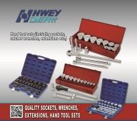 Cens.com HWEY DER INDUSTRIAL CO., LTD. Auto repair tool sets, Socket wrench sets