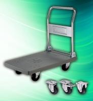 Cens.com 和轮工业有限公司 300kg 折叠式白铁不锈钢手推车