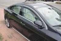 Cens.com HSIN YI CHANG INDUSTRY CO., LTD. Window Visor , window Deflector, Rain Guard with chrome molding